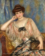 Misia Nathanson painting reproduction, Pierre-Auguste Renoir