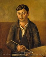 Moise Kisling painting reproduction, Andre Derain