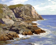 Monhegan painting reproduction, Edward Henry Potthast