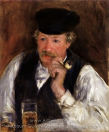 Monsieur Fournaise painting reproduction, Pierre-Auguste Renoir