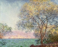 Morning at Antibes painting reproduction, Claude Monet