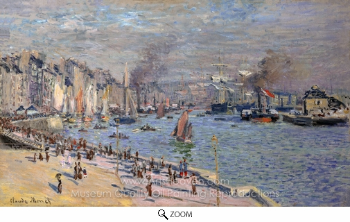 Claude Monet, Morning Haze oil painting reproduction