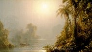 Morning in the Tropics painting reproduction, Frederic Edwin Church