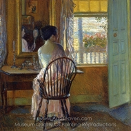 Morning Light painting reproduction, Childe Hassam