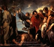 Moses and the Brazen Serpent painting reproduction, Sir Anthony Van Dyck