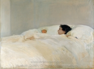 Mother painting reproduction, Joaquin Sorolla