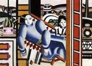 Mother and Child painting reproduction, Fernand Leger