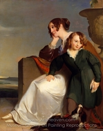 Mother and Son painting reproduction, Thomas Sully