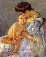 Motherhood painting reproduction, Mary Cassatt