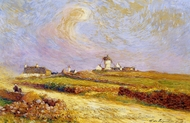Moulin de la Mass, Near Batz painting reproduction, Ferdinand Du Puigaudeau