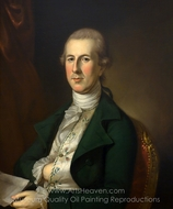 Mr. Thomas Russell painting reproduction, Charles Willson Peale