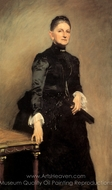 Mrs. Adrian Iselin painting reproduction, John Singer Sargent