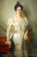 Mrs. Asher B. Wertheimer painting reproduction, John Singer Sargent