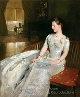 Mrs. Cecil Wade painting reproduction, John Singer Sargent