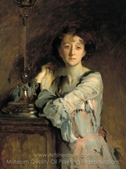 Mrs. Charles Russell painting reproduction, John Singer Sargent