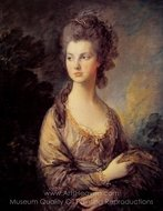 Mrs. Graham painting reproduction, Thomas Gainsborough