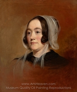 Mrs. Henry Robinson painting reproduction, Thomas Sully