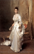 Mrs. Henry White painting reproduction, John Singer Sargent