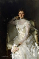 Mrs. Joshua Montgomery Sears (Sarah Choate Sears) painting reproduction, John Singer Sargent