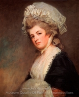 Mrs. Mary Robinson Perdita painting reproduction, George Romney