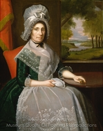 Mrs. Richard Alsop painting reproduction, Ralph Earl