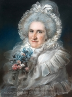 Mrs. William Man Godschall (Sarah Godschall) painting reproduction, John Russell