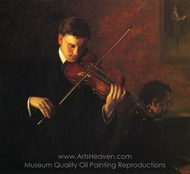 Music painting reproduction, Thomas Eakins