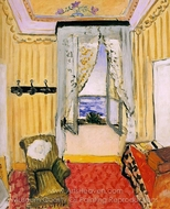 My Room at the Beau-Rivage painting reproduction, Henri Matisse
