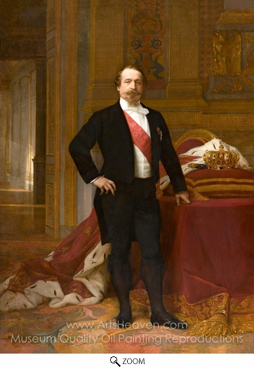 Alexandre Cabanel, Napoleon III oil painting reproduction