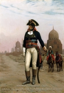 Napoleon in Cairo painting reproduction, Jean-Leon Gerome