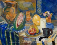 Nature Morte Portugaise painting reproduction, Robert Delaunay
