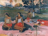 Nave Nave Moe (Delightful Drowsiness) painting reproduction, Paul Gauguin