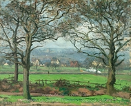 Near Sydenham Hill painting reproduction, Camille Pissarro
