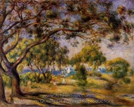 Noirmoutiers painting reproduction, Pierre-Auguste Renoir