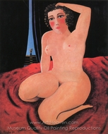 Nude painting reproduction, Camille Bombois