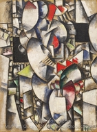 Nude Model in the Studio painting reproduction, Fernand Leger
