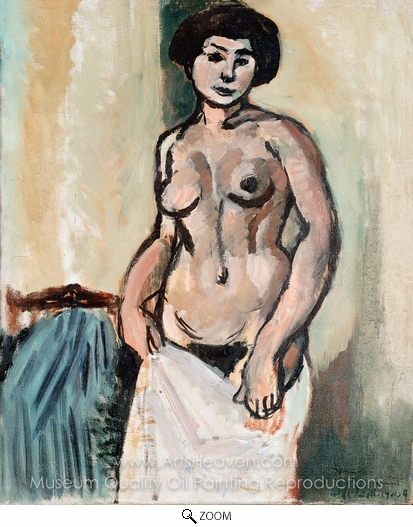Henri Matisse, Nude Study oil painting reproduction