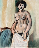 Nude Study painting reproduction, Henri Matisse