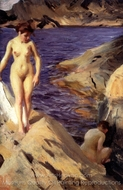 Nudes painting reproduction, Anders Zorn