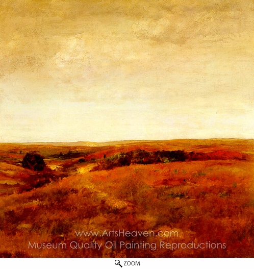 William Merritt Chase, October oil painting reproduction