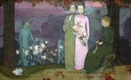 October Evening painting reproduction, Maurice Denis