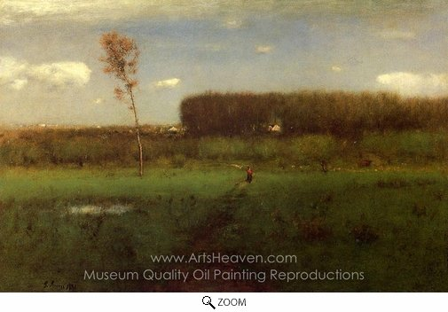 George Inness, October Noon oil painting reproduction