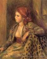 Odalisque painting reproduction, Pierre-Auguste Renoir
