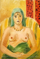 Odalisque (The Tatoo) painting reproduction, Henri Matisse