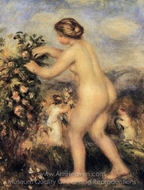 Ode to Flowers (after Anacreon) painting reproduction, Pierre-Auguste Renoir