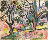 Olive Trees at Collioure painting reproduction, Henri Matisse
