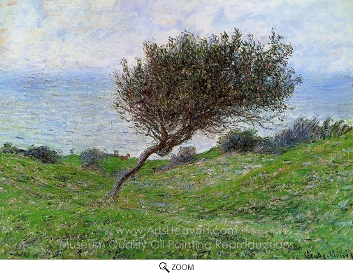 Claude Monet, On the Coast of Trouville oil painting reproduction