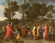 Ordination painting reproduction, Nicolas Poussin