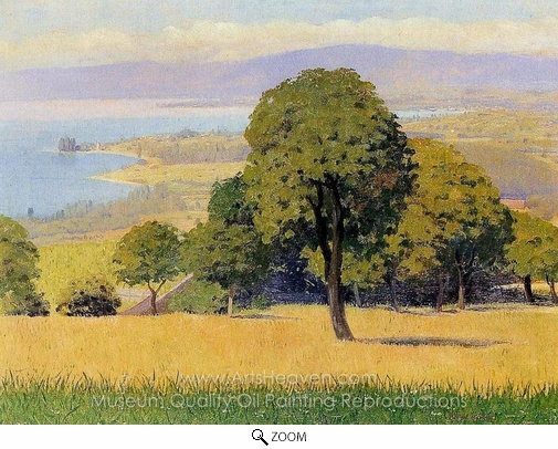 Felix Vallotton, Outskirts of Lausanne oil painting reproduction