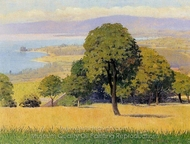 Outskirts of Lausanne painting reproduction, Felix Vallotton